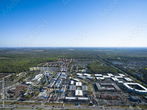 Foto op Aluminium Amusementspark Aerial view of Old Town Amusement Park