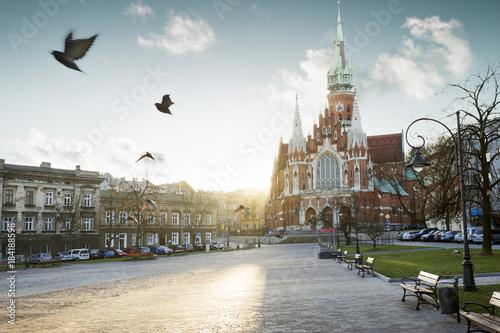 Zdjęcia na płótnie, fototapety na wymiar, obrazy na ścianę : Kościół św. józefa na Podgórzu w Krakowie