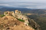 Ruins of Beaufort Castle in Lebanon - 184188951