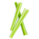 celery isolated on white background, clipping path, full depth of field - 184193139