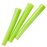 celery isolated on white background, clipping path, full depth of field - 184193187