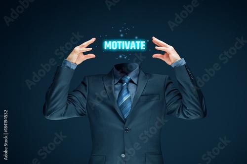 Fototapeta Motivation improvement