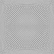 Convex square dots pattern. - 184199567