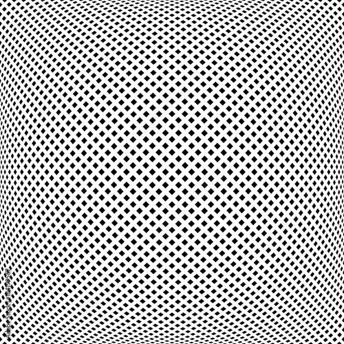 Fototapeta Convex square dots pattern.