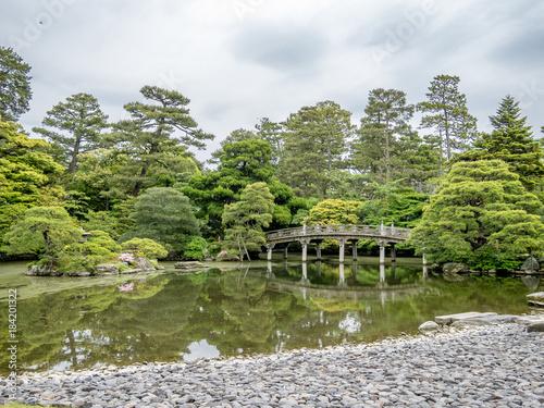 Deurstickers Kyoto japan garden kyoto