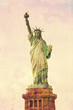 Statue of Liberty - vintage Look