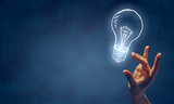 Bright idea concept - 184218547