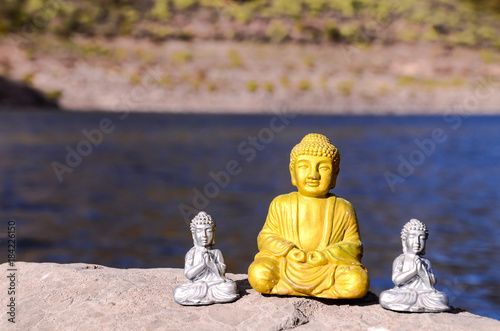 Foto op Canvas Boeddha One Ancient Buddha Statue