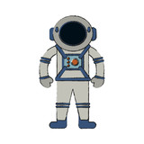 Astronaut cartoon isolated - 184230146