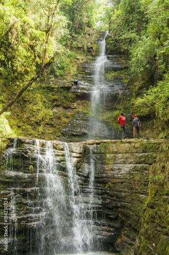 Cascada de piletas parque nacional tama 184230324 for Cascadas de piletas