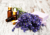 Lavender with soap - 184242766