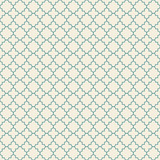 Vector retro geometric seamless pattern. Arabic pattern. Green color vintage seamless background.