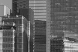 Building abstract. Details of modern office building - 184254906