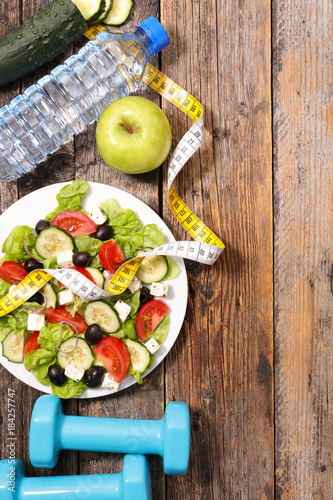 diet food , fitness concept © M.studio