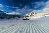 tranquil mountains landscape under blue sky, Austria