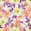 Seamless gentle floral pattern - 184278590