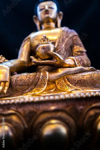 Foto op Aluminium Boeddha Goldener Buddha