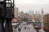 docklands view at london city