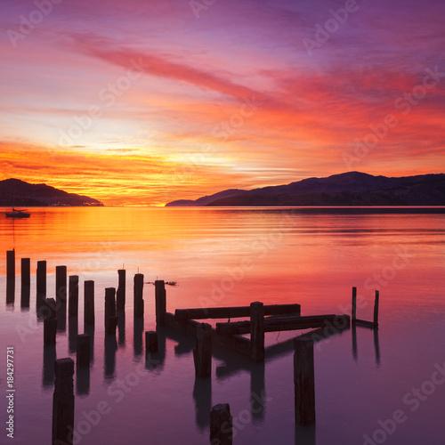 Plexiglas Zonsopgang Beautiful Sunset