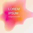 Modern abstract. Fluid organic colorful shapes. Cool gradient shapes composition - 184298181