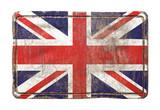 Old United Kingdom flag - 184301135