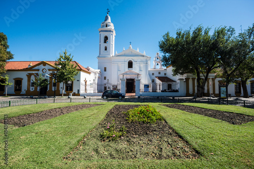 Foto op Canvas Buenos Aires Del Pilar church in Buenos Aires, Argentina