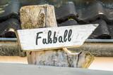 Schild 247 - Fussball - 184309941
