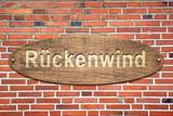 Schild 240 - Rückenwind - 184310954