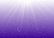 Abstract sunny lights on purple background