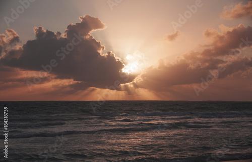 Plexiglas Zonsopgang Caribbean Sunrise