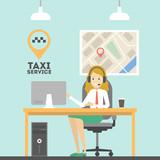 Taxi call service. - 184330507