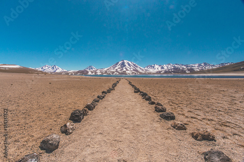 Plexiglas Zalm Laguna Altiplânica in Chile