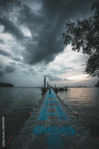 Aluminium Pier Railay Beach Thailand
