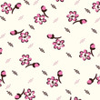 flower nature pattern floral pink abstrac - 184392569
