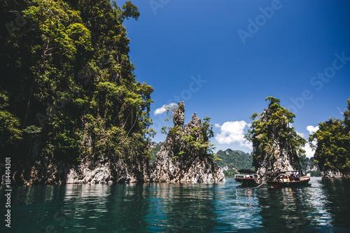 Foto op Canvas Tropical strand kaoh sok