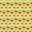 Seamless pattern with heart-shaped ,valentines vector illustration1 - 184431537