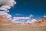 beautiful scenic landscape in Indian Himalayas, Ladakh region