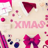 Creative christmas word - 184441175