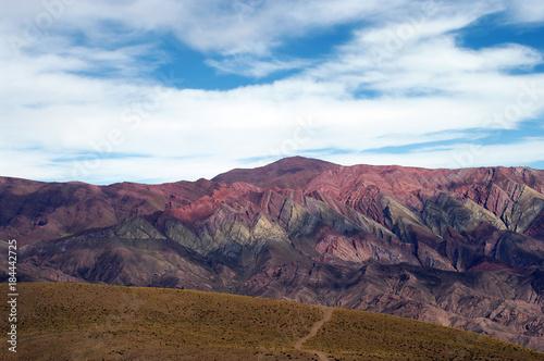 Keuken foto achterwand Blauwe hemel Quebrada de Humahuaca