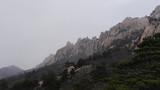 Beautiful mountains of South Korea