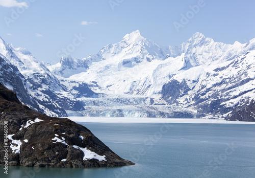 Keuken foto achterwand Blauwe hemel Glacier Bay Scenic