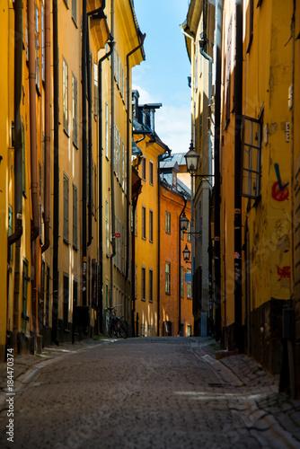 Foto op Canvas Stockholm Stockholm streets June 2015