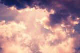 Sky and clouds / Sky and clouds at twilight. - 184476957