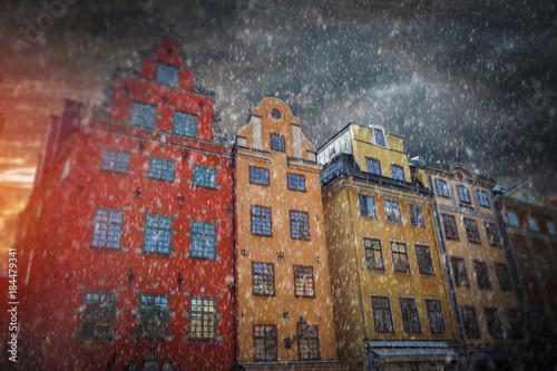 In de dag Stockholm Stockholm, Sweden cityscape