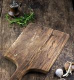 empty wooden cutting board - 184482137