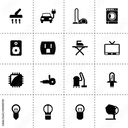 Electrical Icons Vector Collection Filled Electrical Icons Buy