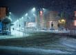 Girl walking alone at night - 184503716