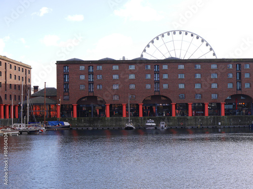 The Albert Dock is a complex of dock buildings and warehouses in Liverpool, England. The first structure in Britain to be built from cast iron, brick and stone, with no structural wood.