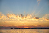 Sunset over Lake Constance