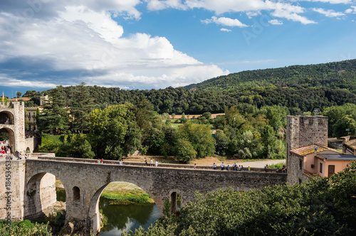 Wall mural Besalu- Catalunha